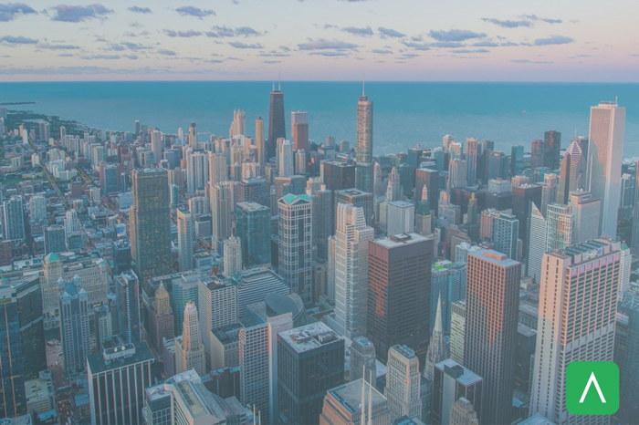 Aerial city view - Source Vizergy