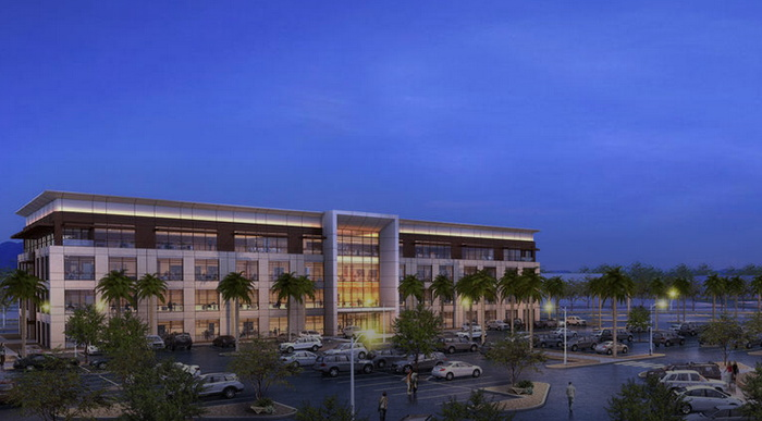 Rendering of the Harry Reid Research and Technology Park