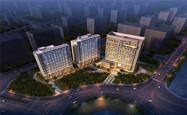 DoubleTree by Hilton Fuzhou South Hotel - Aerial view