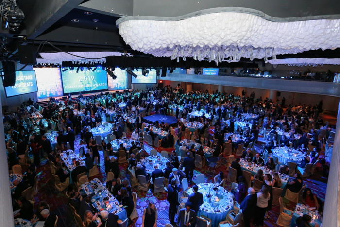 Image from HSMAI Adrian Awards ceremony