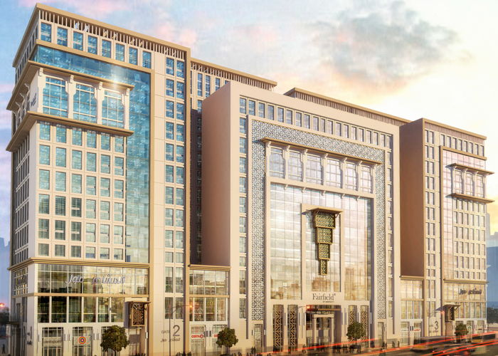 Rendering of the Fairfield by Marriott Makkah Al Naseem