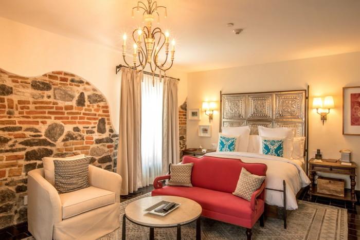 Guestroom at the Azul Talavera Hotel