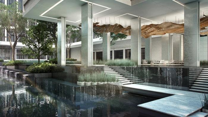 Four Seasons Hotel Bangkok at Chao Phraya River - Water feature