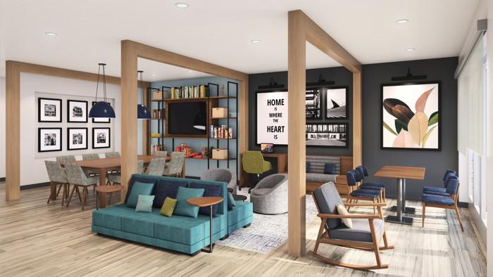 Choice Hotels - Everhome Lobby
