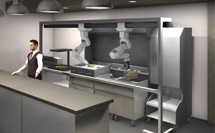 Robotic Kitchen Assistant