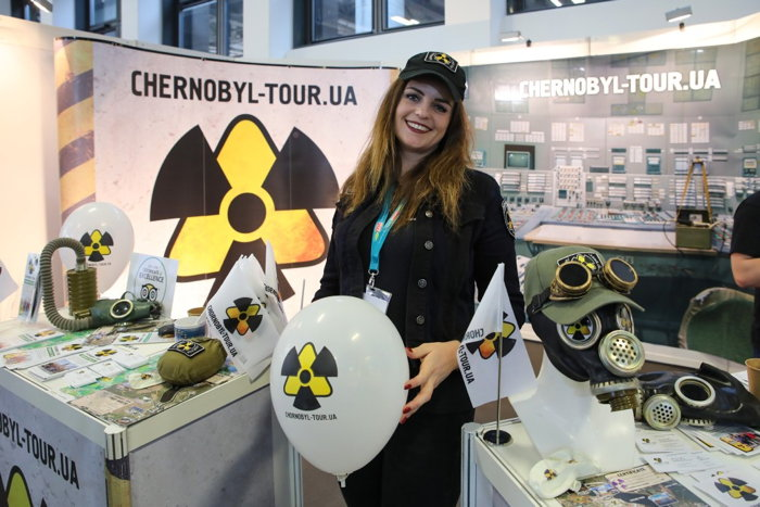 Chernobyl Tour stand at ITB