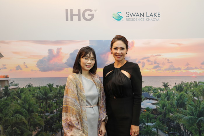 Image from InterContinental Khao Yai Swan Lake Resort signing ceremony