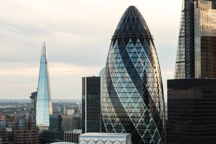 High rise buildings in London - Unsplash