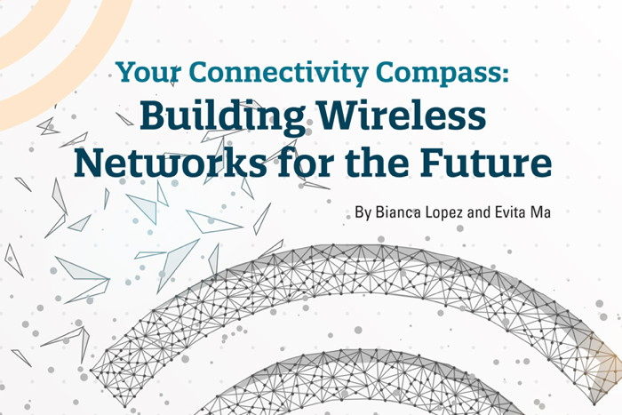 Cover from 'Your Connectivity Compass - Building Wireless Networks for the Future' report
