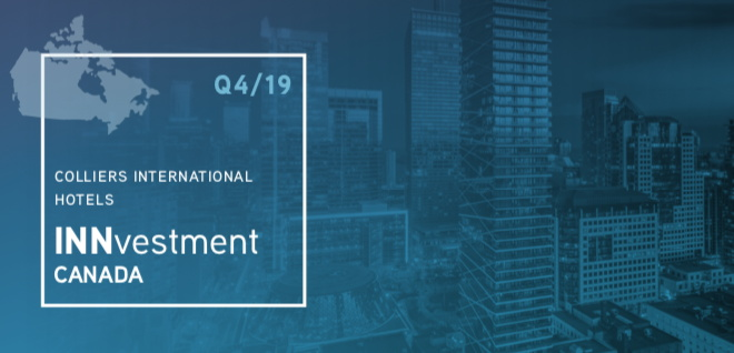 Colliers International Hotel INNvestment Canada Report Q4 2019 - Cover