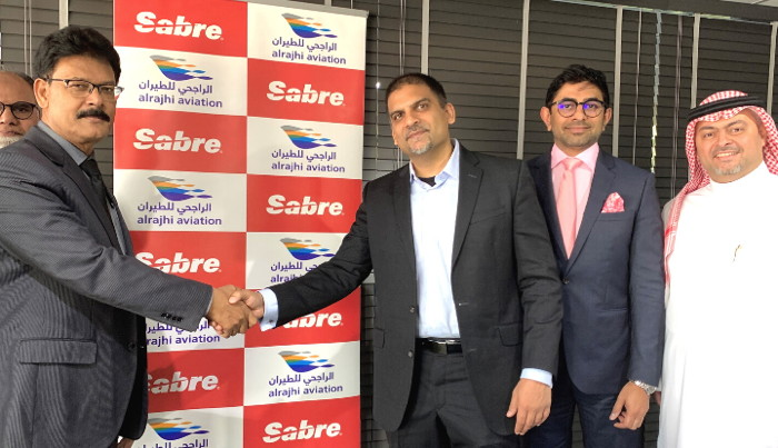Al Rajhi and Sabre officials