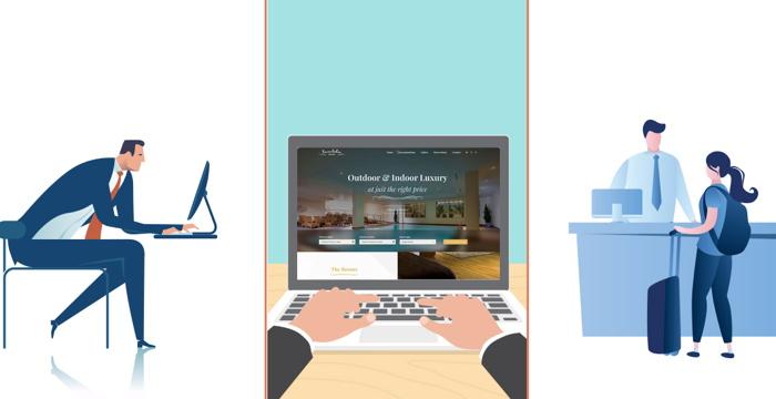 Illustration - Front Desk System concept
