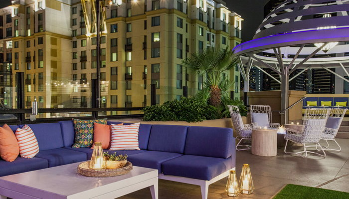 Solamar Hotel, San Diego - Rooftop terrace