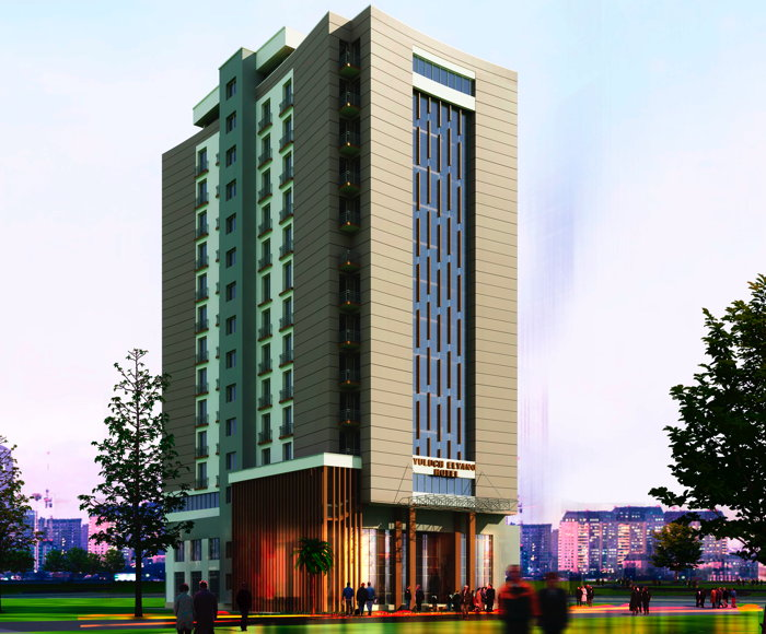 Rendering of the Ibis Styles Addis Ababa Hotel