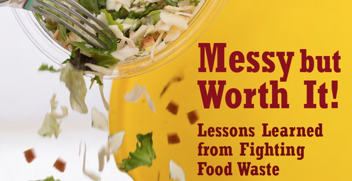Image from Report - Messy but Worth It: Lessons Learned from Fighting Food Waste
