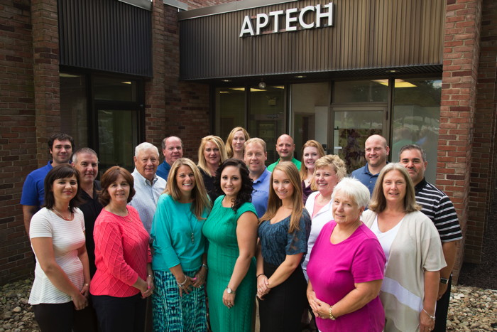 Group Photo Aptech employees
