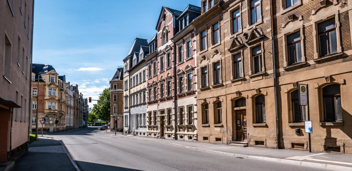 Empty street in freiberg, Germany - Unsplash