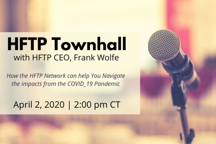Poster for virtual HFTP Townhall