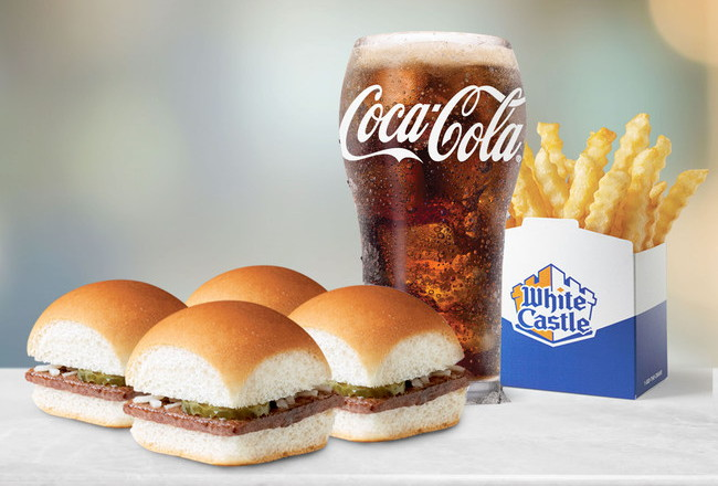 A White Castle meal