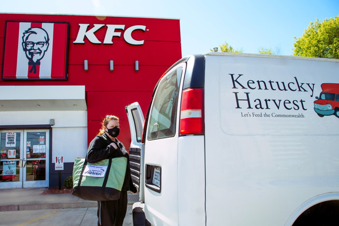 Kentucky Harvest van