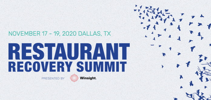 Restaurant Recovery Summit banner