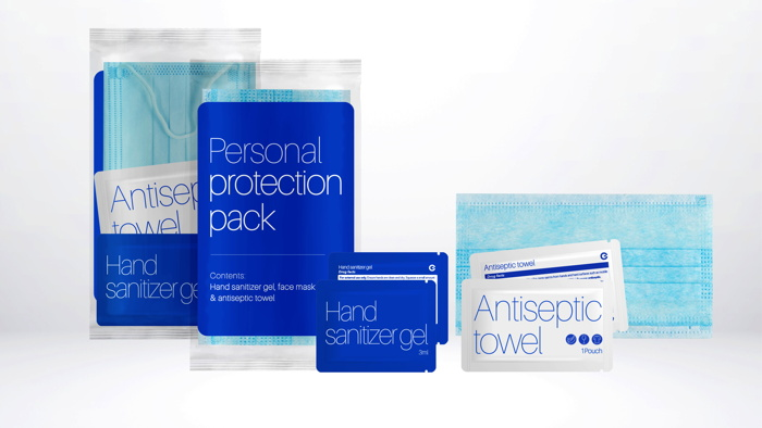 Various Guest Care Solutions products
