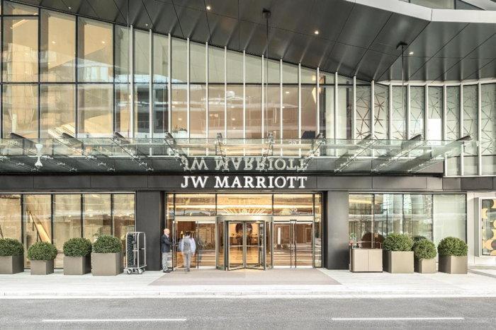 JW Marriott Parq Vancouver - Entrance
