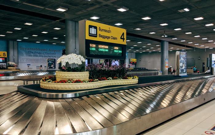 Baggage Claim at Bangkok-Suvarnabhumi airport - Unsplash