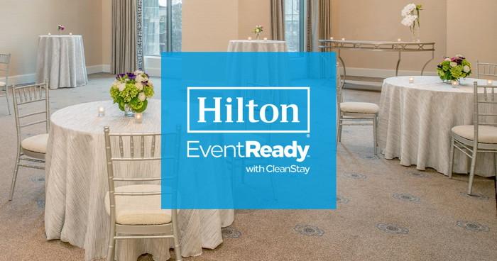 Hilton EventReady poster