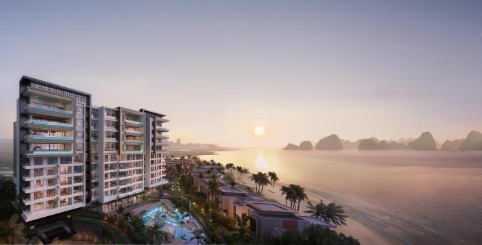 Rendering of the InterContinental Halong Bay Resort
