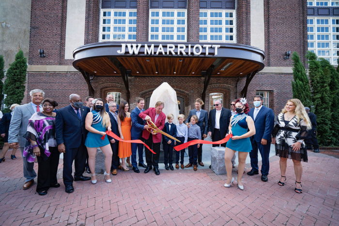 Image from JW Marriott Savannah opening ceremony