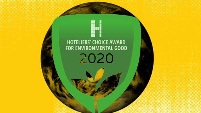 Hoteliers' Choice Awards for Environmental Good - Badge