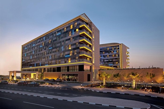 Exterior of Hyatt Regency Oryx Doha