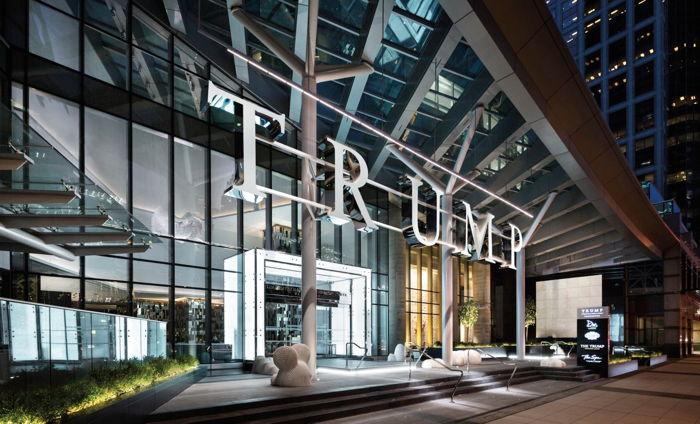 Trump Hotel Vancouver - Entrance