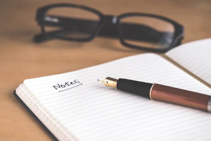 A note book - Unsplash