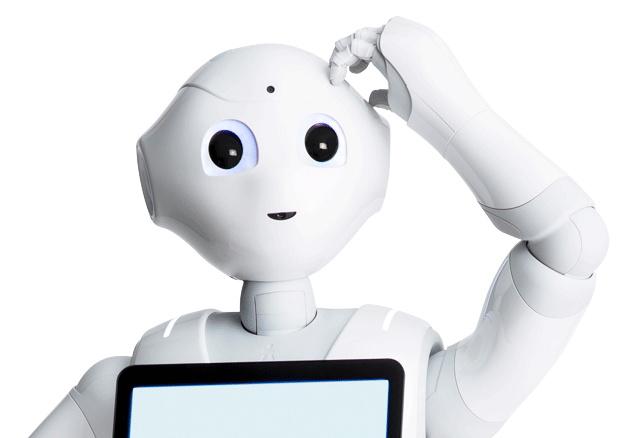 Peper the robot - Source - Softbak Robotics