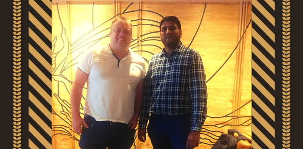 From left to right: Endre Opdal, CEO of HotelOnline and Aeijaz Sodawala, CEO of eZee Technosys Pvt. Ltd.