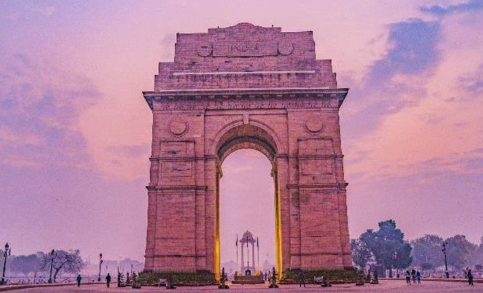Unnamed destination in India
