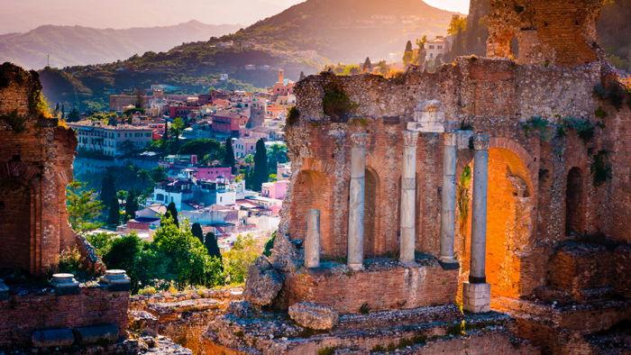 San Domenico Palace in Taormina, Italy