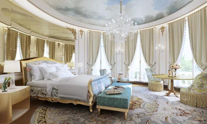 Suite at the Mandarin Oriental Ritz, Madrid