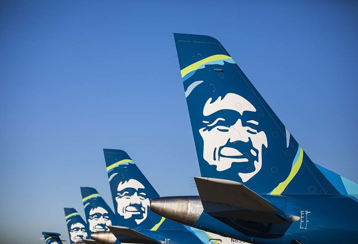 Alaska Airlines airplanes