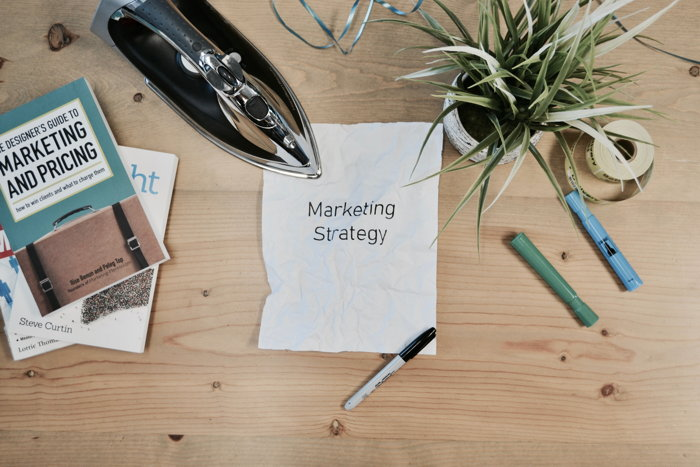 Graphic - Marketing stratgey concept