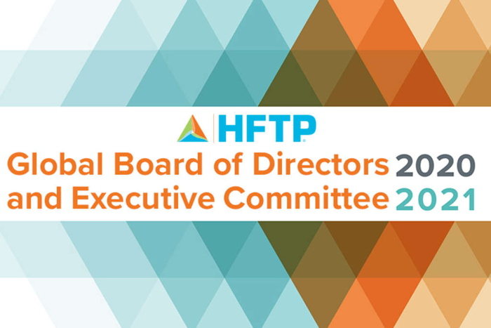 HFTP 2020–2021 Global Executive Committee and Board of Directors banner