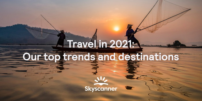 Cover image for Skyscanner Reveals Top Destinations And Traveler Trends For Americans In 2021