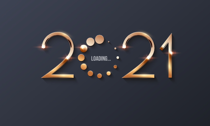 2021 with a 'loading' graphic - Source HFTP
