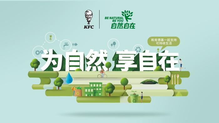 KFC Be Natural Be You poster