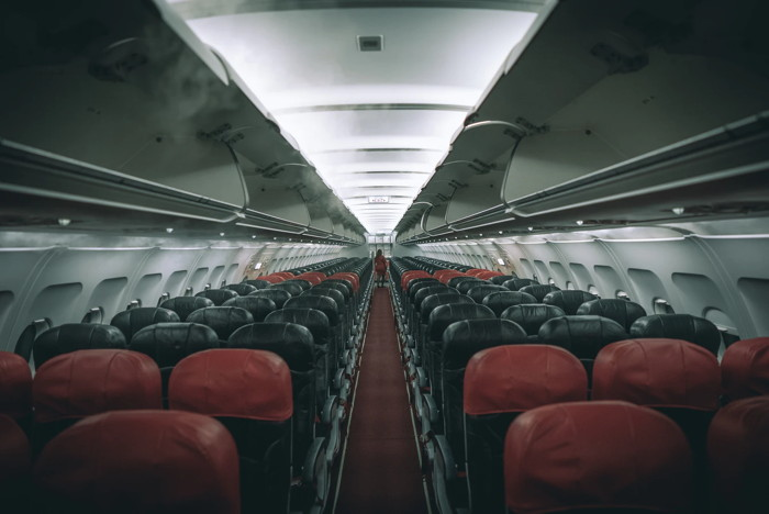 An airplane interior - Unsplash