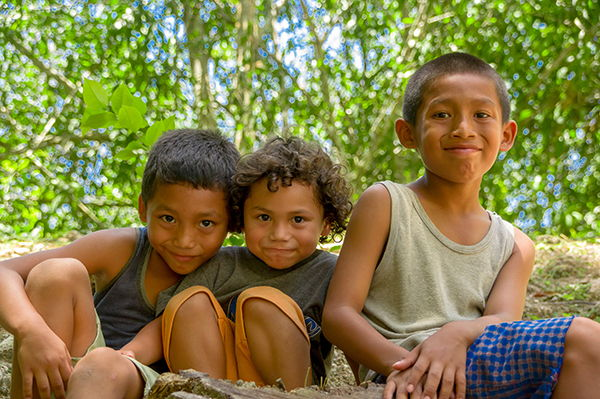 A group of children - Source WTTC