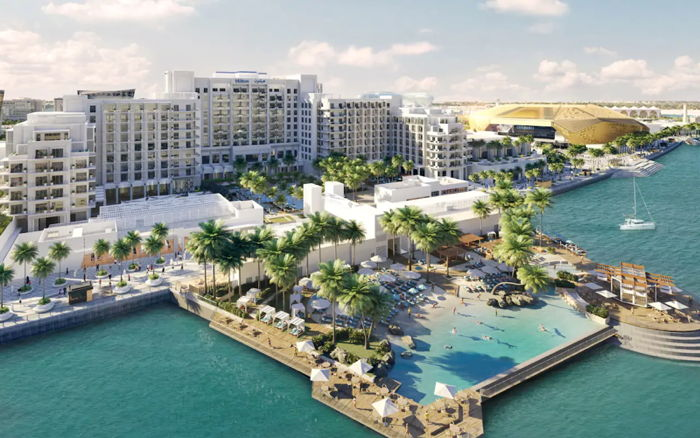 Hilton Abu Dhabi Yas Island Resort - Exterior