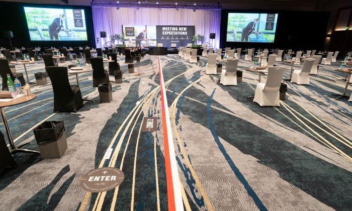 A hybrid meeting - Source Marriott International